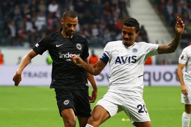 Fenerbahçe, Alman rakibi Eintracht Frankfurt ile 1-1 berabere kaldı