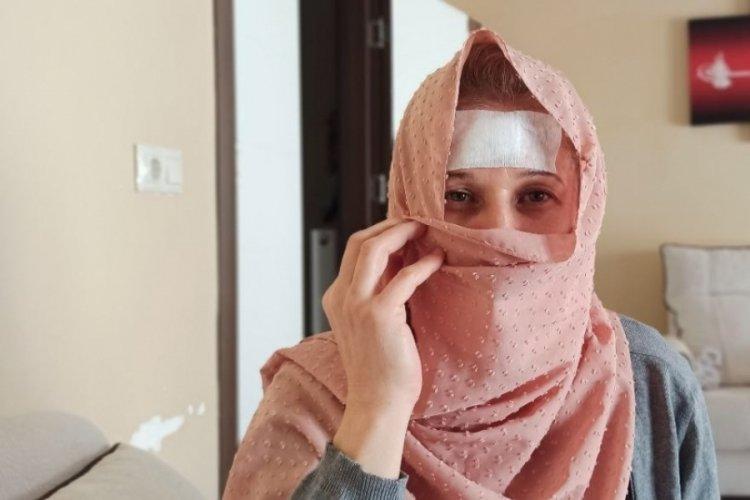 """Bursa'da hırsızın bıçakladığı kadın konuştu: """"O an sadece çocuklarımı düşündüm"""""""