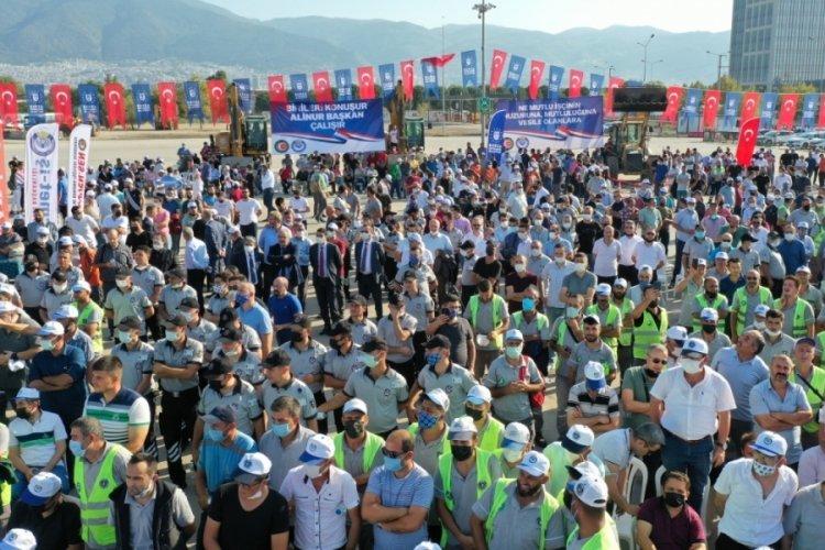 Bursa Büyükşehir Belediyesi'nde toplu sözleşme sevinci