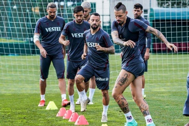 Trabzonspor'da Kasımpaşa maçı hazırlıklarını tamamlandı