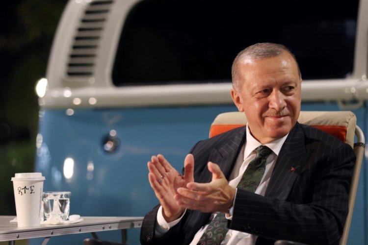 Cumhurbaşkanı Erdoğan, Mersin'de gençlerle buluştu