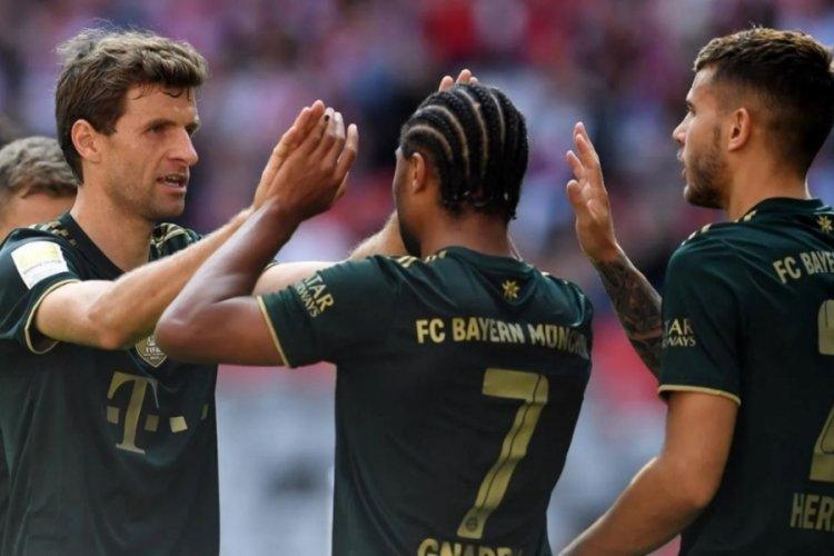 Bayern Münih, Bochum'u mağlup etti