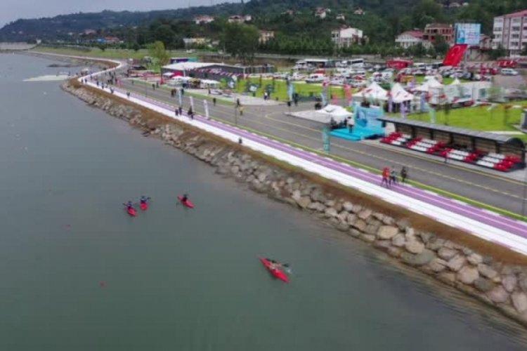 BursaBüyükşehir Belediyespor, kano yarışlarında birinci oldu