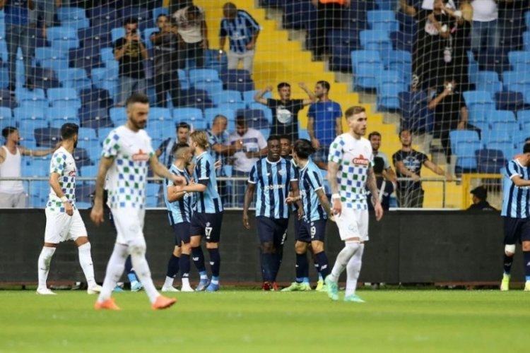 Adana Demirspor'dan sezonun ilk galibiyeti