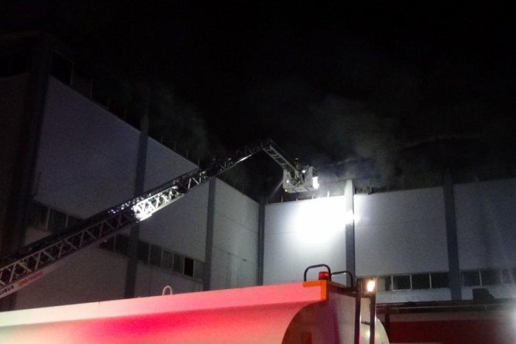 İzmir'de orman ürünleri deposunda yangın!