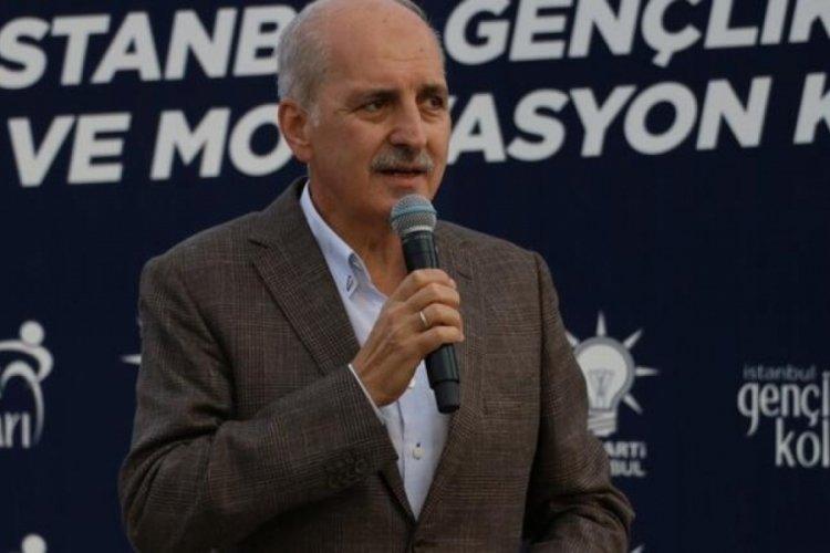 Numan Kurtulmuş: Mazlumların gözü büyük ve güçlü bir Türkiye üzerindedir