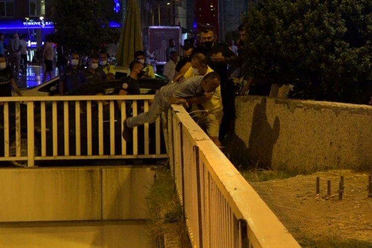 Antalya'da intihar teşebbüsü!