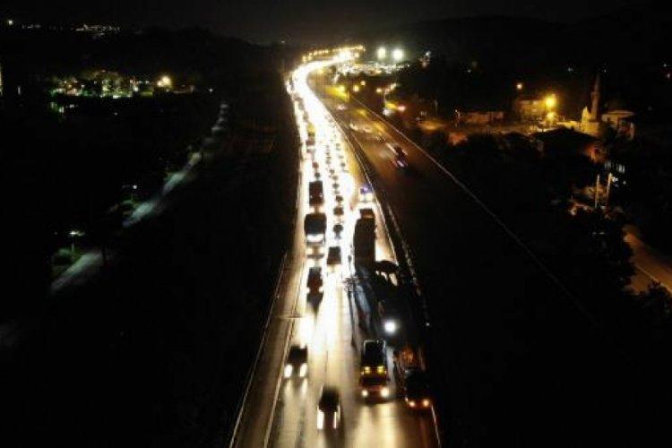 Sakarya Sapanca'da zincirleme kaza! 5 yaralı