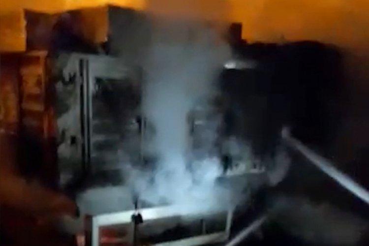 Kırıkkale'de tırda çıkan yangın büyümeden söndürüldü