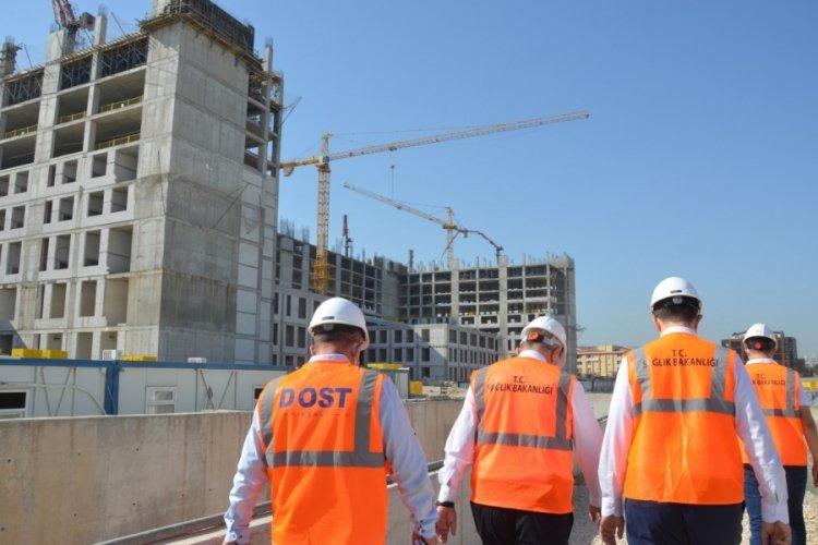 Bursa Ali Osman Sönmez Devlet Hastanesi inşaatı sürüyor