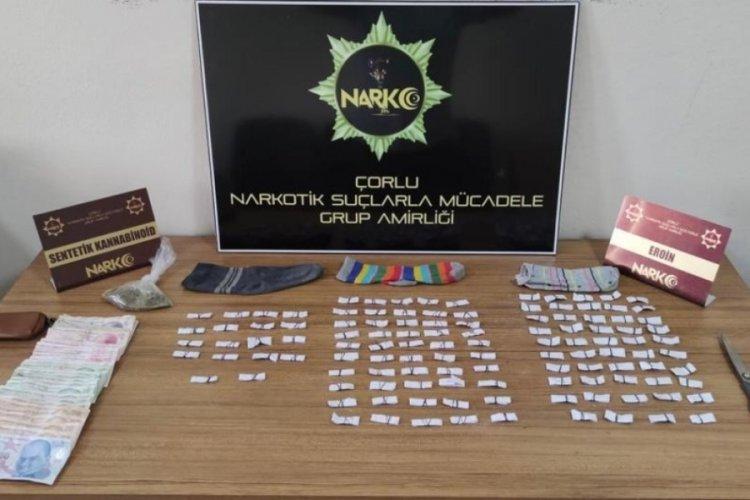Çorlu'da uyuşturucu operasyonu: 1 kişi yakalandı
