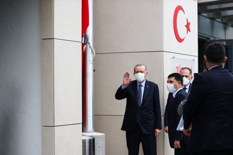 Cumhurbaşkanı Erdoğan New York'ta Türkevi Binası açılışını yaptı