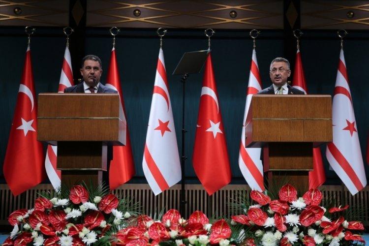 Fuat Oktay'dan CHP'li Ünal Çeviköz'e 'Mavi Vatan' tepkisi