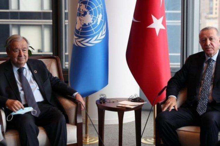 Guterres'ten Türkiye'ye mülteci teşekkürü