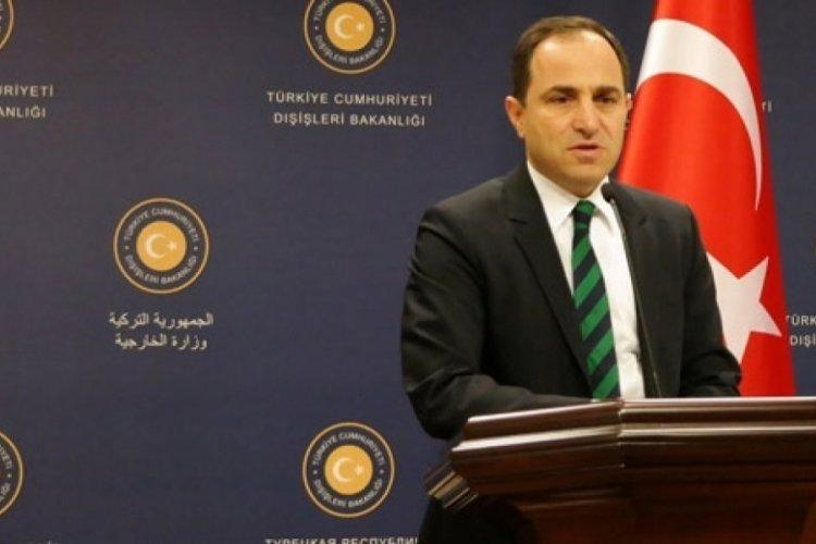 Dışişleri Bakanlığı'ndan Kırım açıklaması