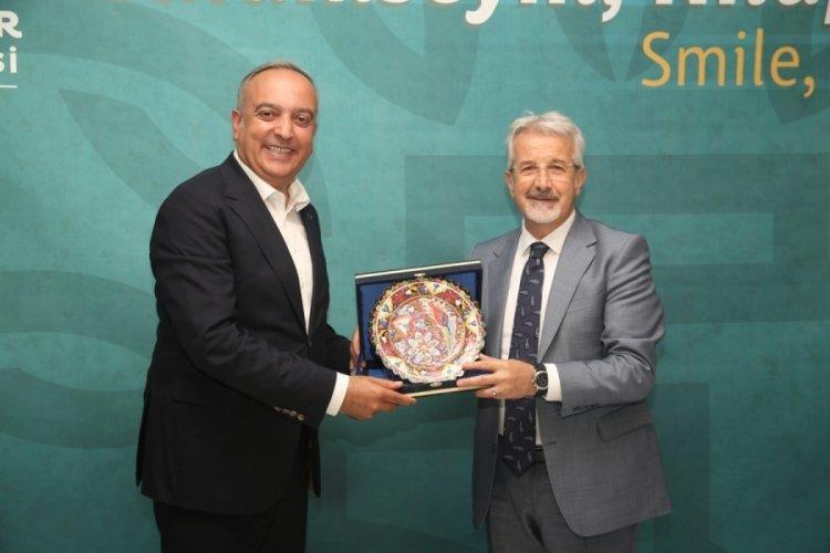 Borçka'dan Bursa Nilüfer Belediye Başkanı Erdem'e davet