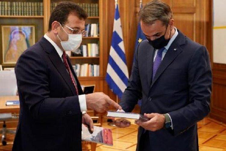 İBB Başkanı İmamoğlu davet üzerine Yunanistan'a gitti