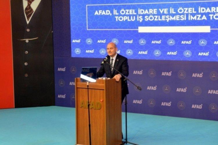 İçişleri Bakanı Soylu: Türkiye afet yönetiminde yeni yapılanmayla çağ atlamıştır
