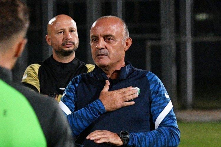 Bursaspor'un yeni teknik direktörü Bizati ilk idmanına çıktı