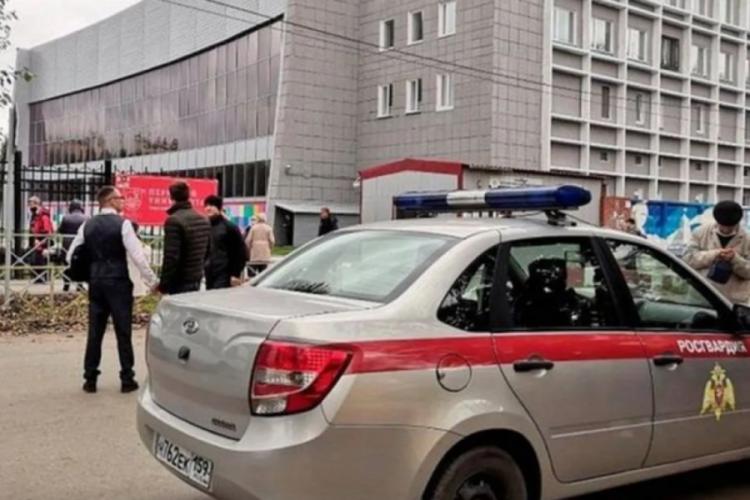 Rusya'da silahlı saldırı düzenleyen öğrencinin bacağı kesildi
