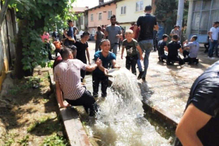 Bursa'da düğünde damada derede görülmemiş eziyet
