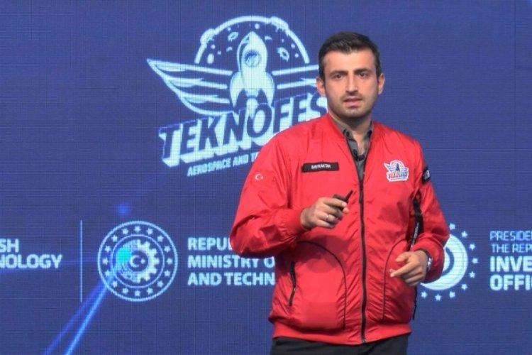 TEKNOFEST Başkanı Selçuk Bayraktar: Gayretimiz uçan araba teknolojisini geliştirmek