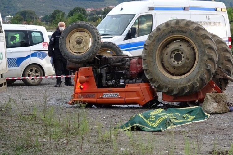 Gençlerin traktörle macerası ölümle bitti