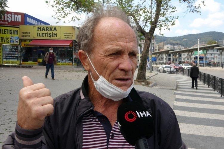 Bursa'da dolandırıldığını anladı, cep telefonuna kaydetti