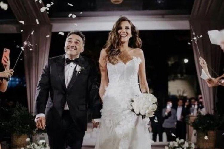 Arda Türkmen ile Melodi Elbirliler'in düğününde panik anları!