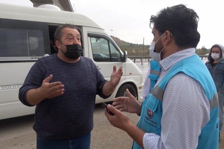 Kırıkkale'de pozitif olan yolcu taşıyan şoför savunmasıyla şaşırttı