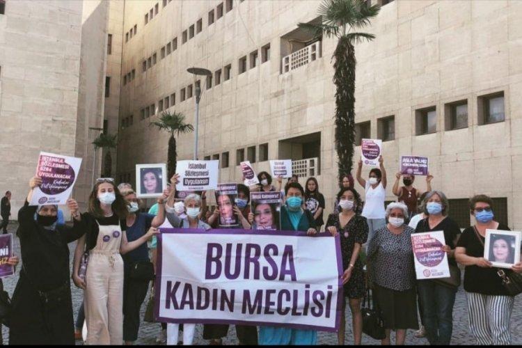 Bursa'da katledilen Serpil Şentürk cinayeti davası için adalet talebi!