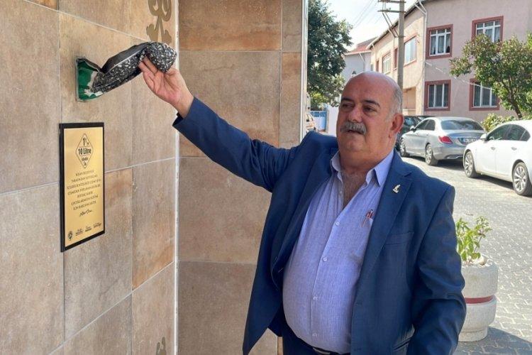 Edirne'de geliri öğrencilere gidecek çeşmenin para haznesi çalındı