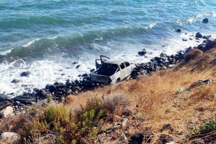 İzmir'de uçurumdan düşen araçtan Beşiktaş kongre üyesinin cesedi çıktı