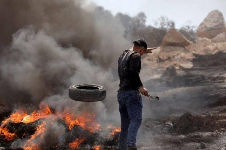 İsrail'den Filistinlilere sert müdahale: 1 ölü, 90 yaralı