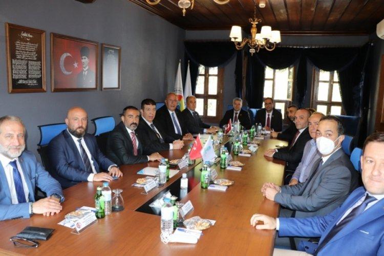 Bursa Ticaret Borsası, Gaziantep Ticaret Odası'nı ağırladı