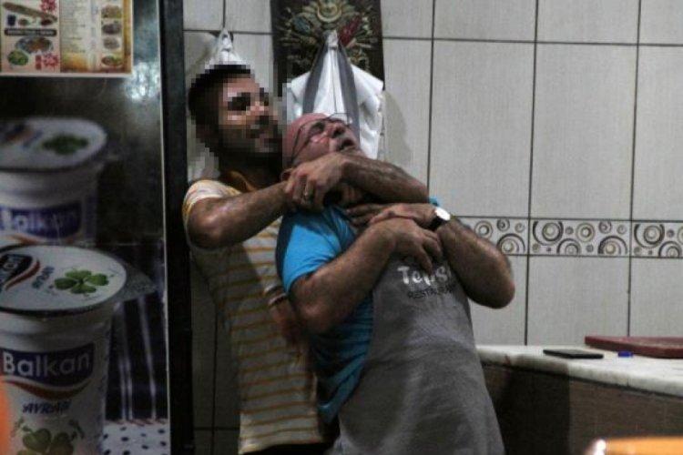 Antalya Manavgat'ta 5 saat rehin tutulan usta, takla atıp kurtulmuş