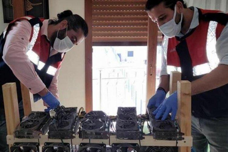 İzmir'de kripto para madenciliğine operasyon düzenlendi