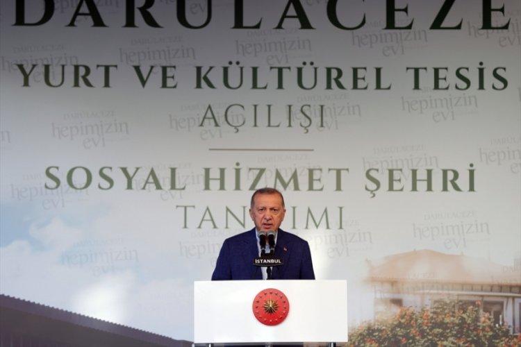 Cumhurbaşkanı Erdoğan: Hiç ilgisi alakası olmayan kişileri banklara yatırarak kampanyalar sürdürüyorlar