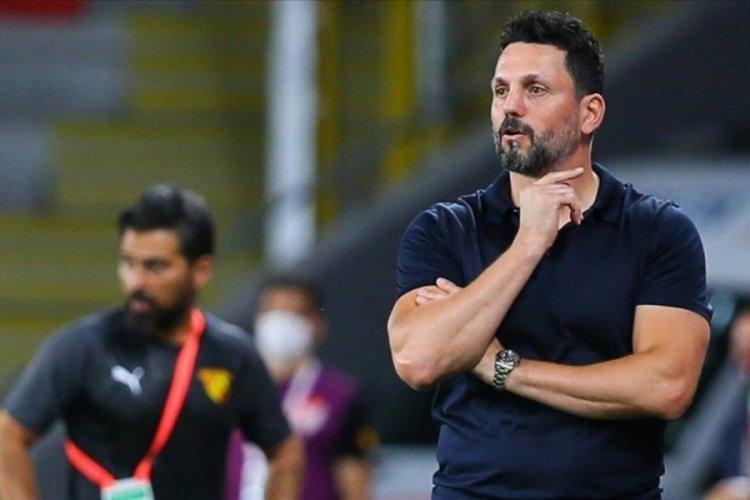 Teknik Direktör Erol Bulut'tan maçın hakemine tepki