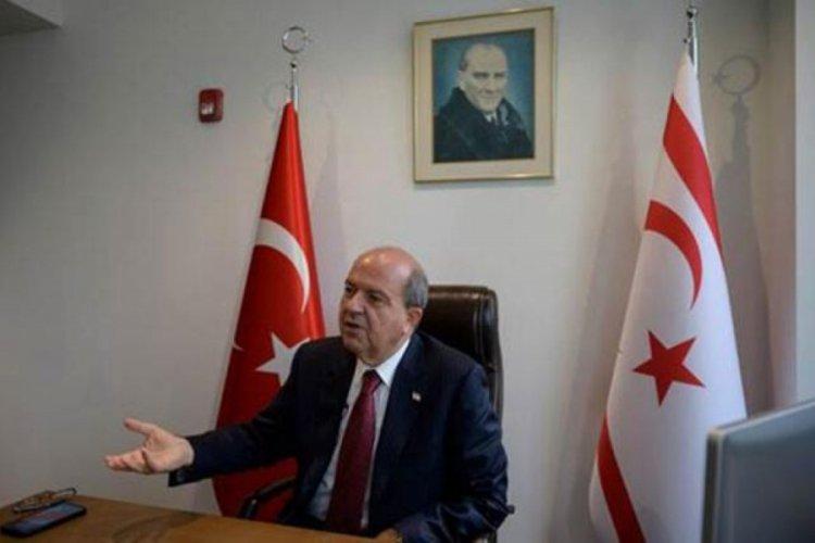 KKTC Cumhurbaşkanı Tatar'dan net açıklama: Ada'daki tek gerçek, Kıbrıs Türk tarafının egemen eşitliğinin kabul edilmesidir!