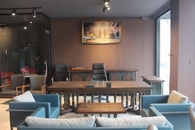 Bursa İnegöl'deki ofis mobilyaları, 30 ülkeye ihraç ediliyor