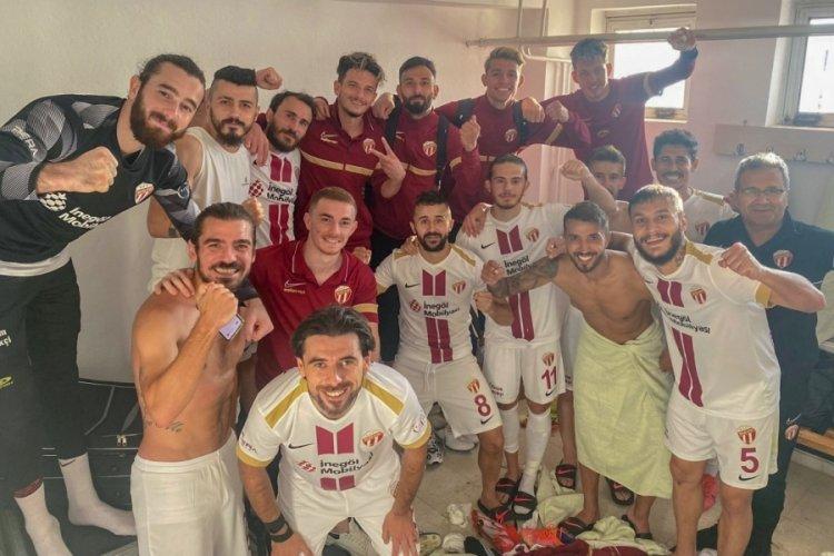 İnegölspor, Niğde Anadolu Futbol Kulübü'nü 5-1 mağlup etti