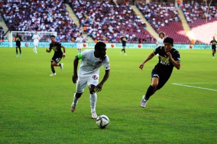 Fenerbahçe, deplasmanda Hatayspor'u 2-1 mağlup etti