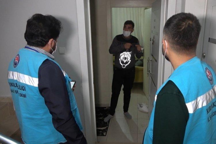 Koronavirüs pozitif kişi apartta yakalandı: Testler karışmış olabilir