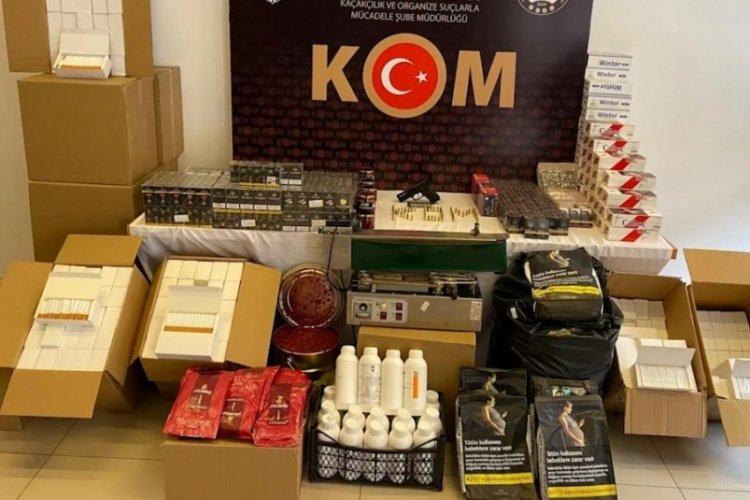 Konya merkezli 5 ilde kaçak tütün ve sigara operasyonu! 9 gözaltı