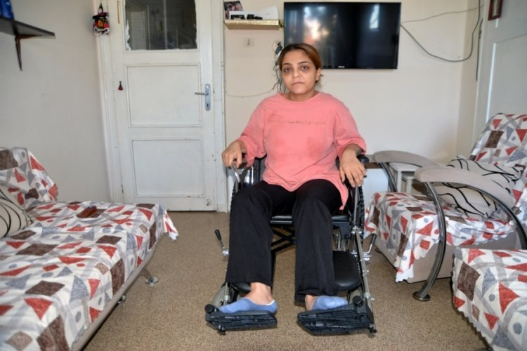 Mersin'de eski eşi tarafından vurulan Derya, tekerlekli sandalyeye mahkum oldu