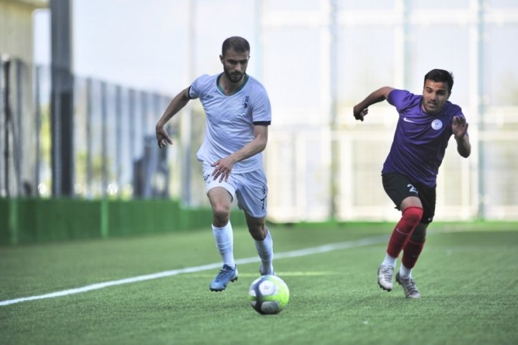 Bursa Nilüfer FK 2021'den sağlam prova