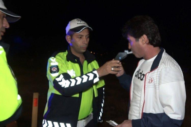 Kütahya'da polisten kaçan sürücü alkollü çıktı