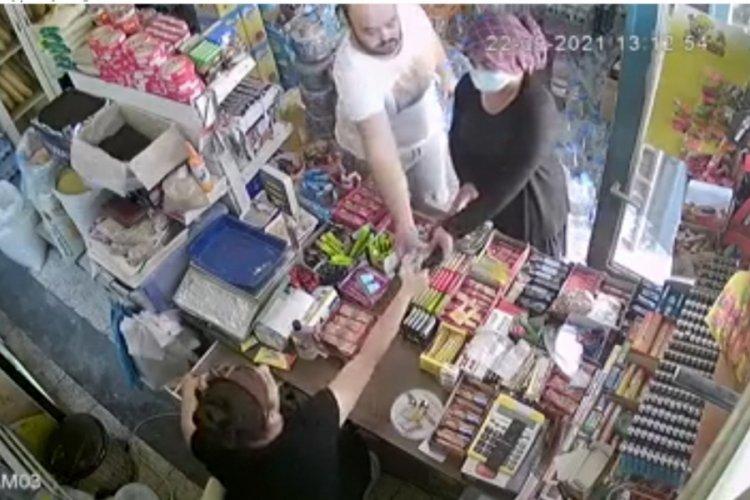Adana'da tırnakçılık şüphelisinin yakalandığı an kamerada!