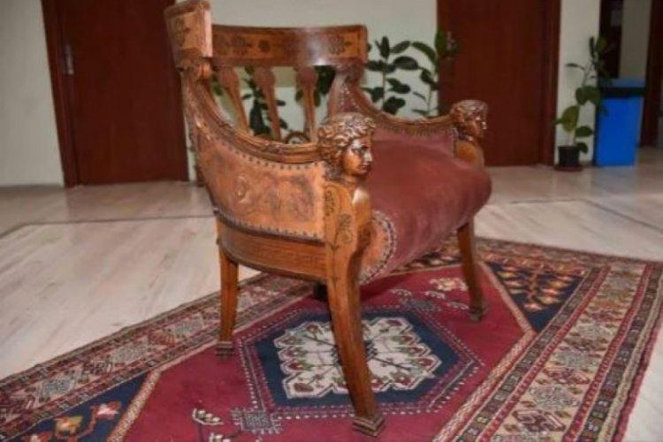 Osmanlı dönemine ait koltuk müzede sergilenecek